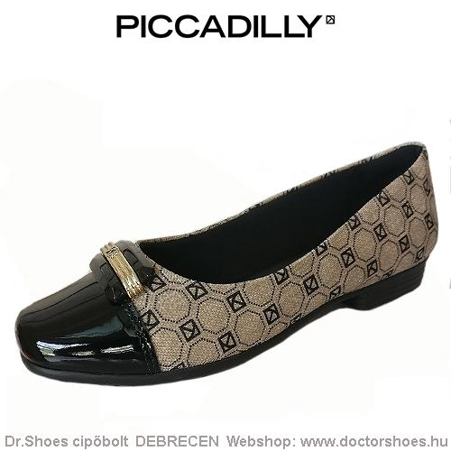 PICCADILLY TECIDO black | DoctorShoes.hu
