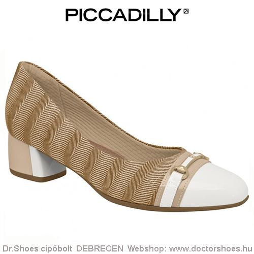 PICCADILLY BRANCO beige | DoctorShoes.hu