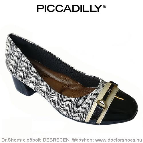 PICCADILLY BRANCO black | DoctorShoes.hu