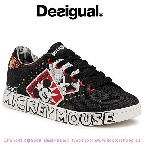DESIGUAL MICKEY black | DoctorShoes.hu