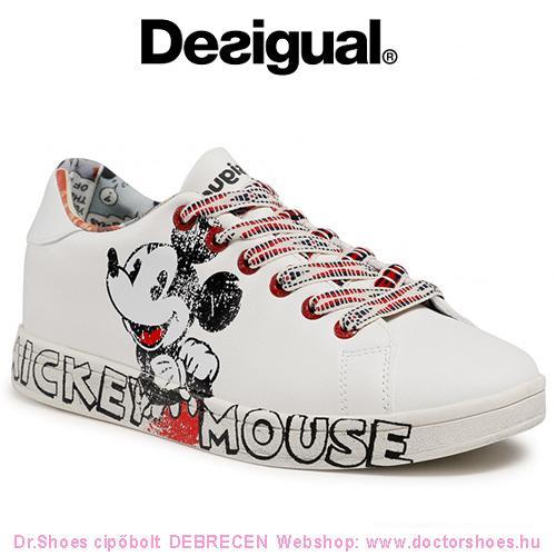 DESIGUAL MICKEY white | DoctorShoes.hu