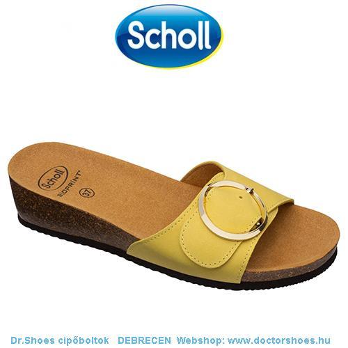 SCHOLL AMALFI yellow | DoctorShoes.hu